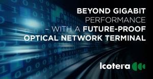 Blogpost: Beyond gigabit performance