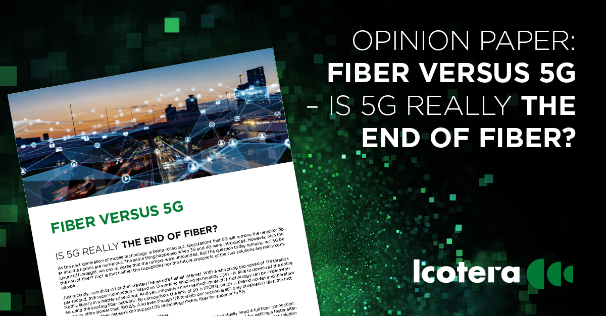 Is 5G really the end of fiber?