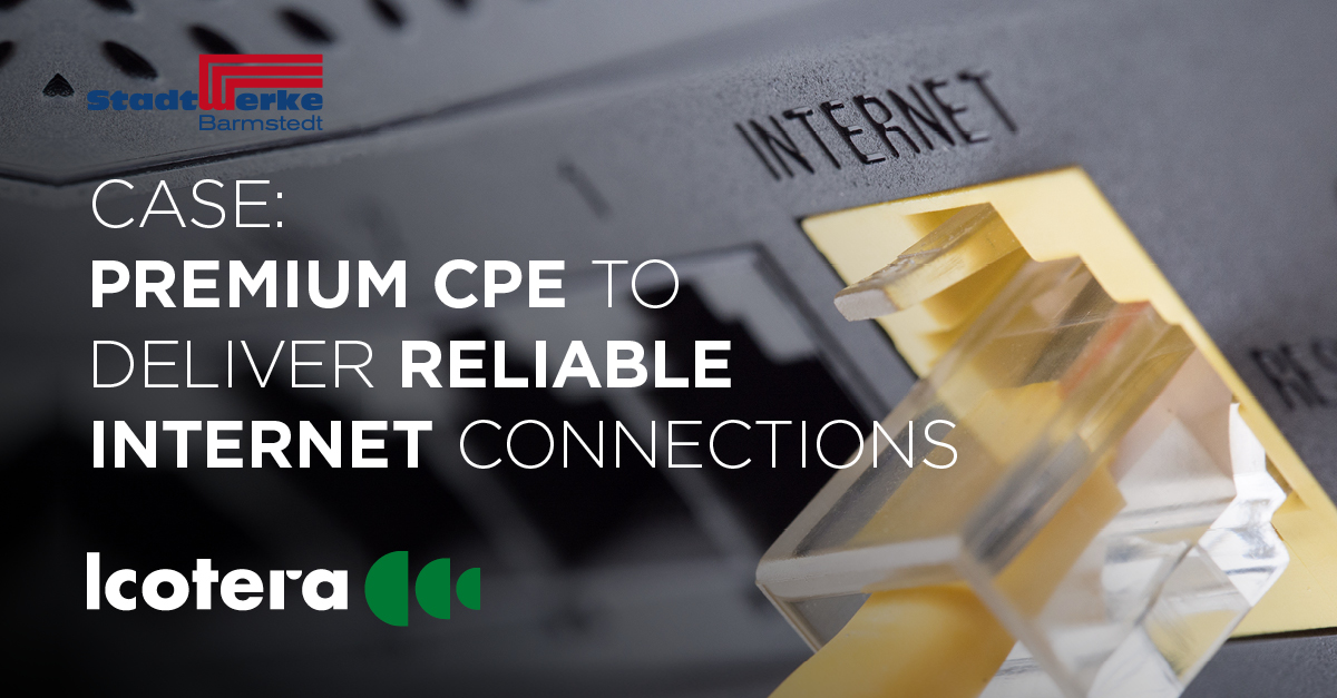 CASE: Regional utility company delivers high-performance internet across northern Germany