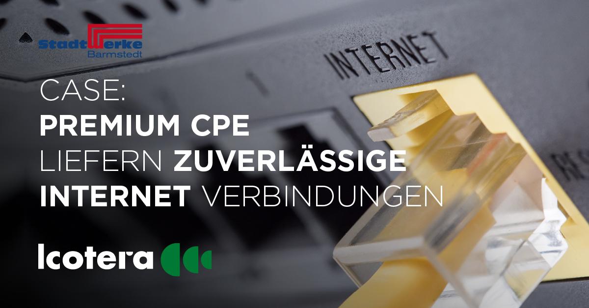 CASE: Ein regionales Versorgungsunternehmen bietet seinen Kunden in ganz Norddeutschland leistungsstarkes Internet