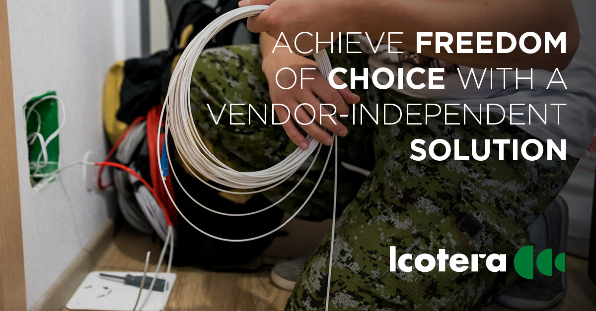A vendor independent layer 3 device solution means freedom of choice for ISPs