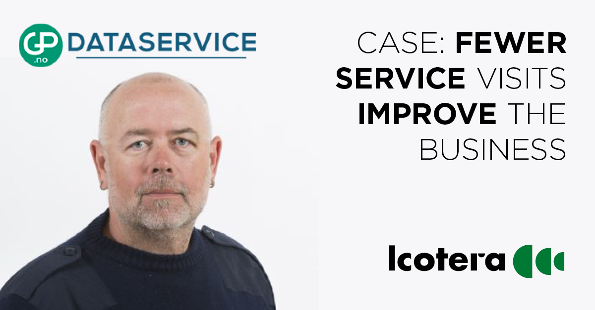 CASE: Fewer service visits improve the business